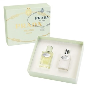 Kit Perfume Infusion d'Iris EDP 100ml + Body Lotion 100 ml Feminino Prada