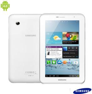 """Tablet Samsung Galaxy Tab 2 7.0 P3110 Wi-Fi Branco com Display 7"""" Full Touch, Processador de 1GHz Dual Core, Android 4.0, 1GB Memória RAM e Memória Total de 8GB"""
