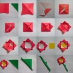 Origami de flor
