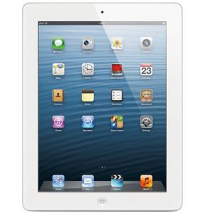 """iPad com Tela Retina Apple Branco com 32GB, Tela Multi-Touch 9,7"""", Wi-Fi, Acesso a Internet, FaceTime, Câmera iSight, Vídeos em HD, até 10 horas de Bateria, Chip Apple A6X Dual Core com chips gráficos Quad Core"""