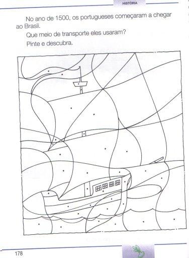 Descobrimento Do Brasil 22 De Abril Atividades Almanaque Dos