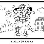 Família da Magali