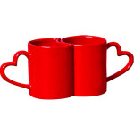 caneca love red