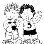 amizade futebol meninos DIA DA criança