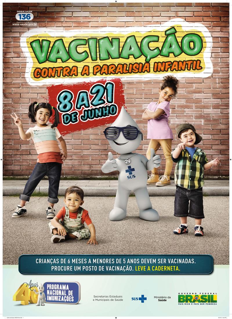 vacinacao paralisia infantil 2013