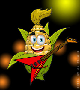 HdC o milho rock star