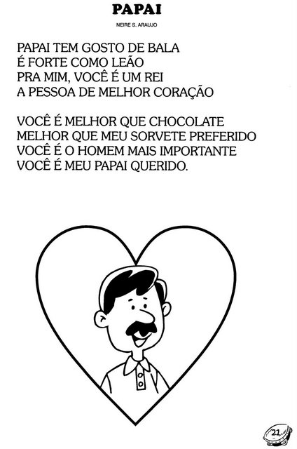Dia Dos Pais Poemas Almanaque Dos Pais
