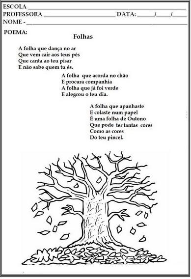 Amado Dia da Árvore - 21 de setembro - atividades infantis - Almanaque  VW39
