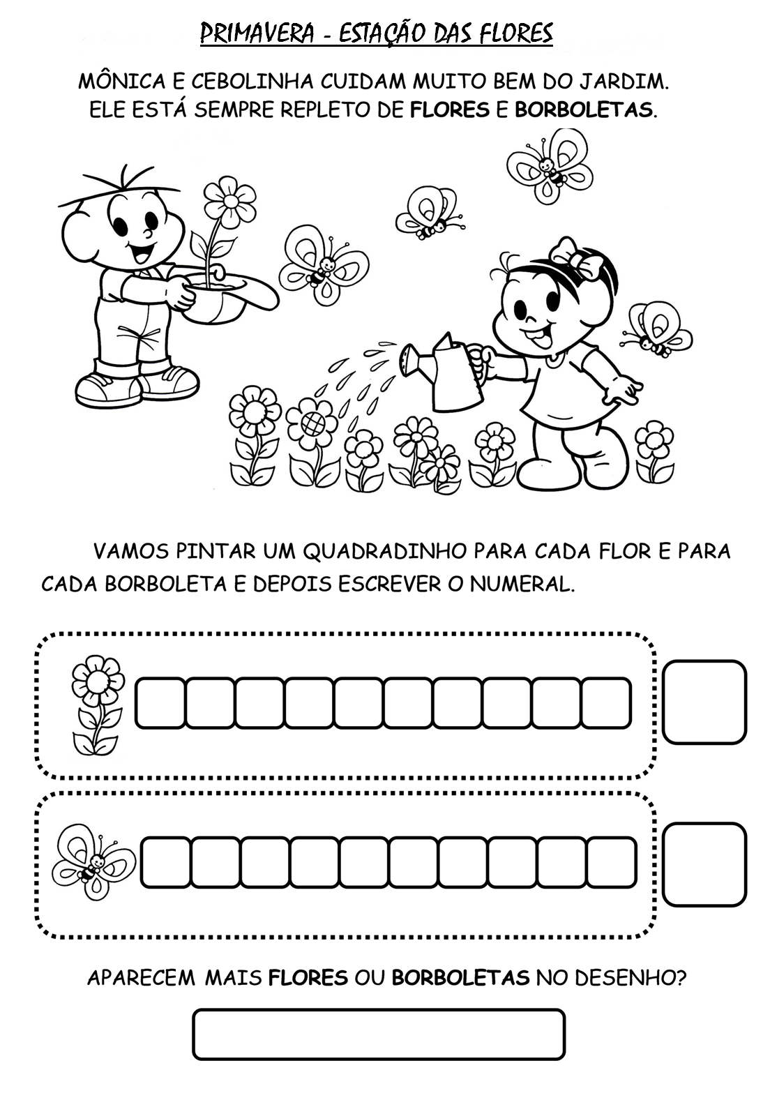 Inicio Da Primavera 22 De Setembro Atividades Infantis