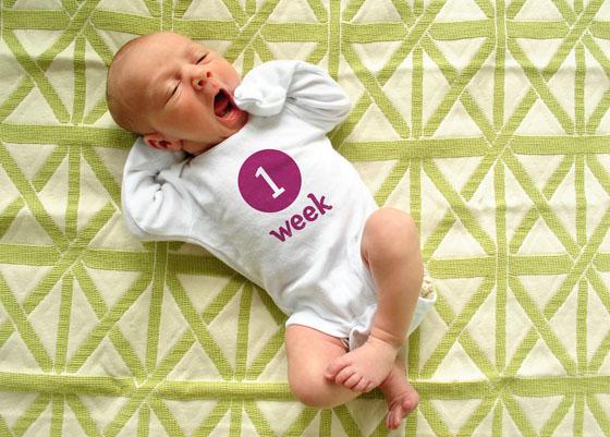 Desenvolvimento do bebê no 1º mês de vida