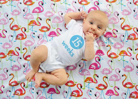 bebe de 3 meses