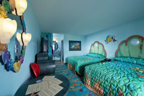 Quarto Pequena Sereia  - Disney's Art of Animation Resort