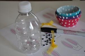 coelho-em-garrafa-reciclada-materiais