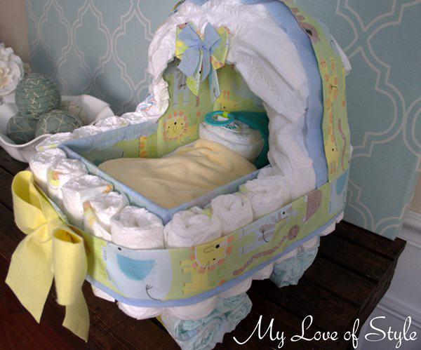 bolo de fraldas de carrinho de bebe-25