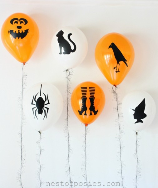 Halloween-baloes