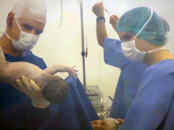 Nascimento do meu primogênito Lucas (janeiro de 2011)