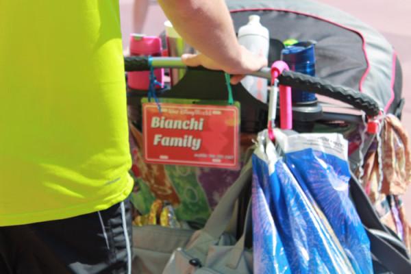 Stroller-Licence-placa-de-identificacao-carrinho-de-bebe