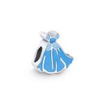berloque cinderela - vestido azul