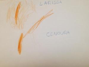 Larissa-cenoura