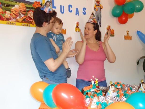 Festa de 1 ano do Lucas num hotel fazenda na cidade de Passa Quatro