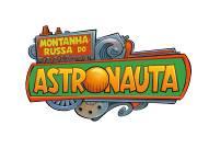 montanha russa astronauta