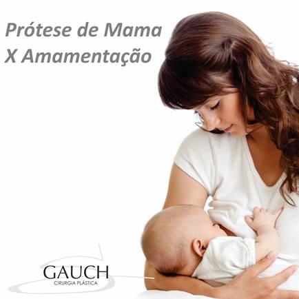 Protese de mama x amamentação