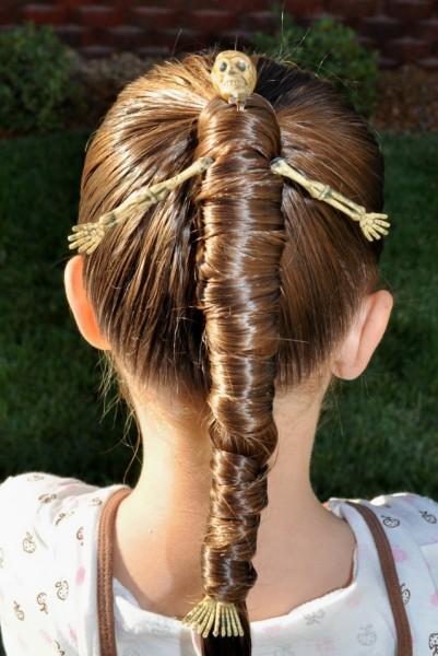 penteado para halloween 10