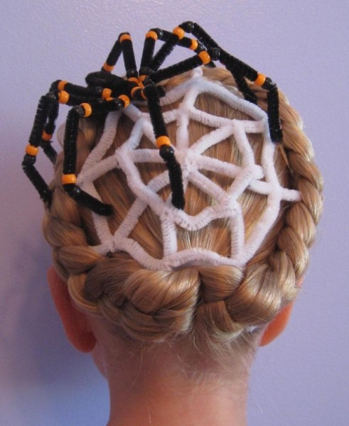 penteado para halloween 12