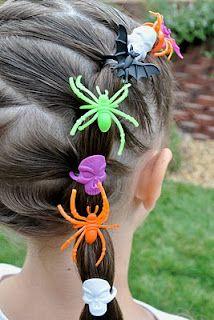 penteado para halloween 14