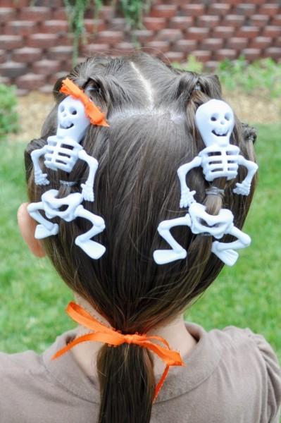 penteado para halloween 30