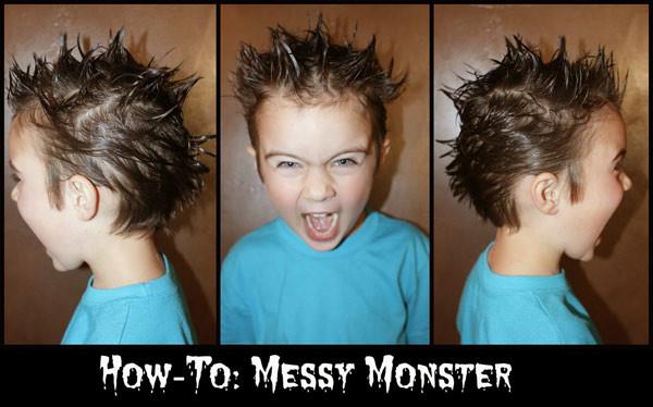 Com um pouco de gel ou pomada você pode criar um penteado de arrepiar!