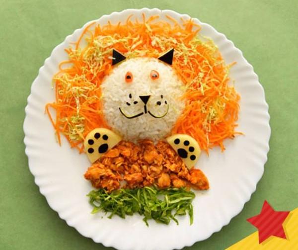 comida divertida gato