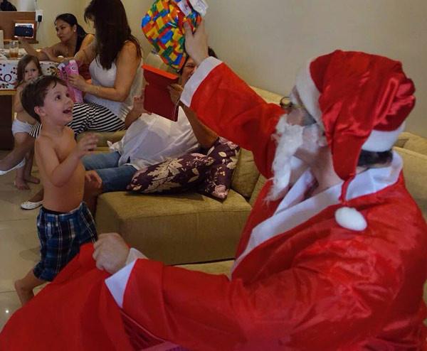 Natal 2014, neste ano caprichamos um pouco mais no visual do Bom Velhinho.