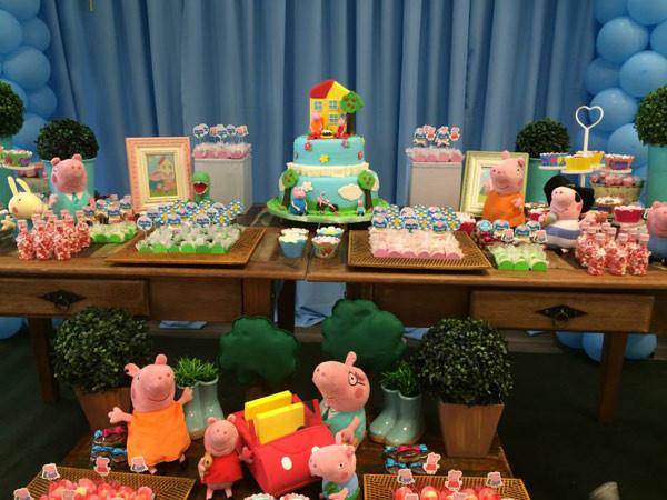 Festa de 1 ano da Peppa Pig