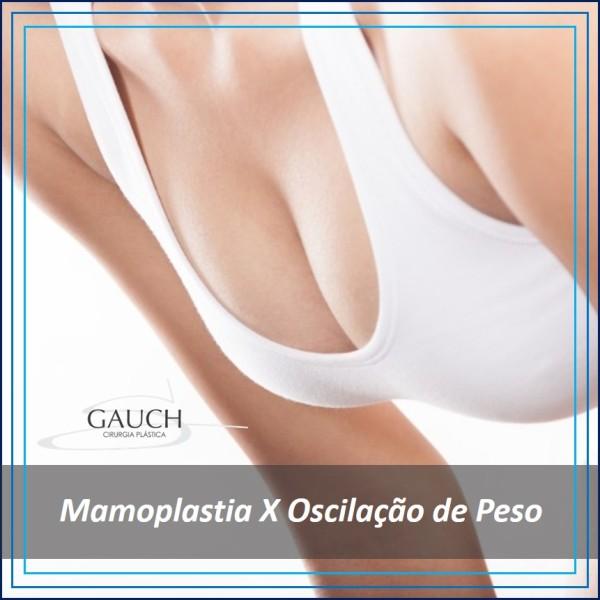 Mamoplastia e a oscilação de Peso