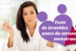Teste de gravidez antes do atraso menstrual? – Em vídeo