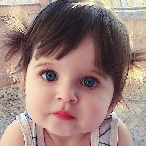 visão do bebê
