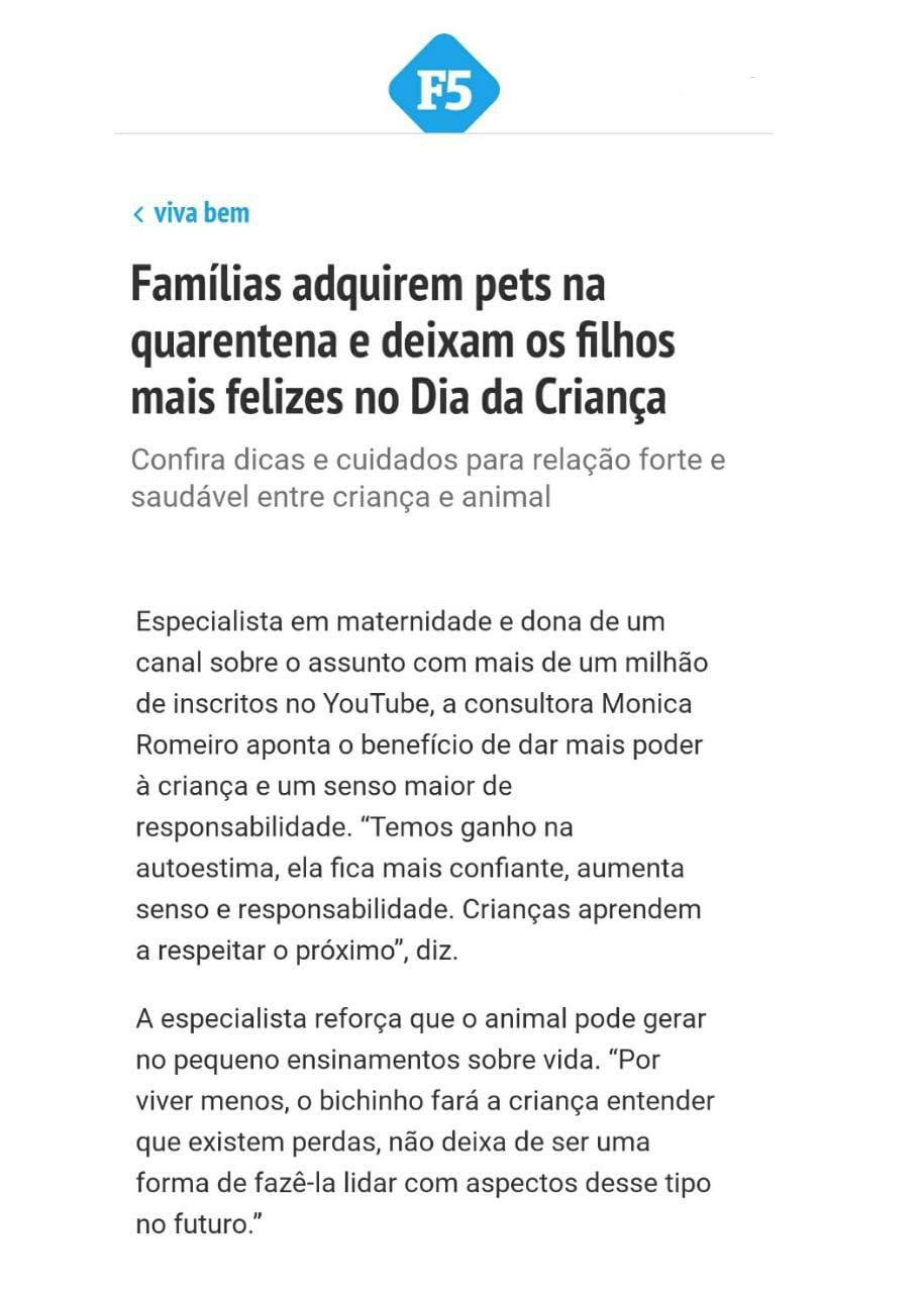 monica romeiro folha de sp pet entrevista almanaque dos pais